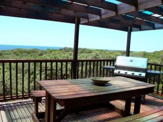 Seaview house braai area